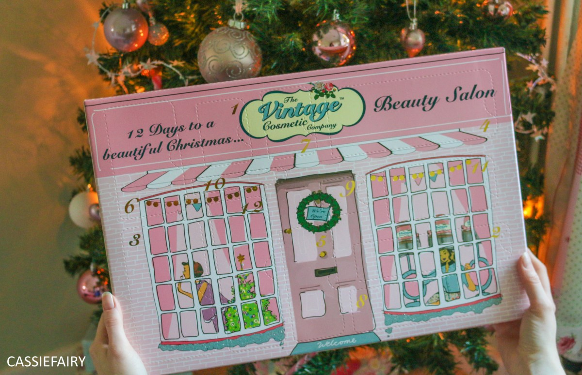 My advent calendar - 12 days to a beautiful Christmas